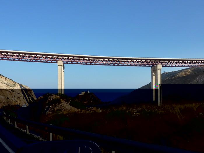 Puente. Provincia de Almeria.