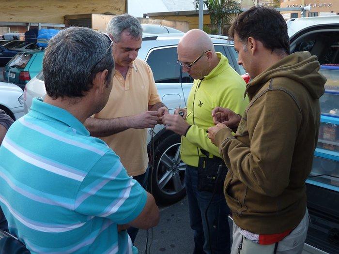 Equipo laboral. Nacho Salvador, Paco Olmeda, Lucas Cruz, Chema Quesada