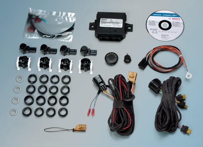 Componentes sistema de ayuda al aparcamiento