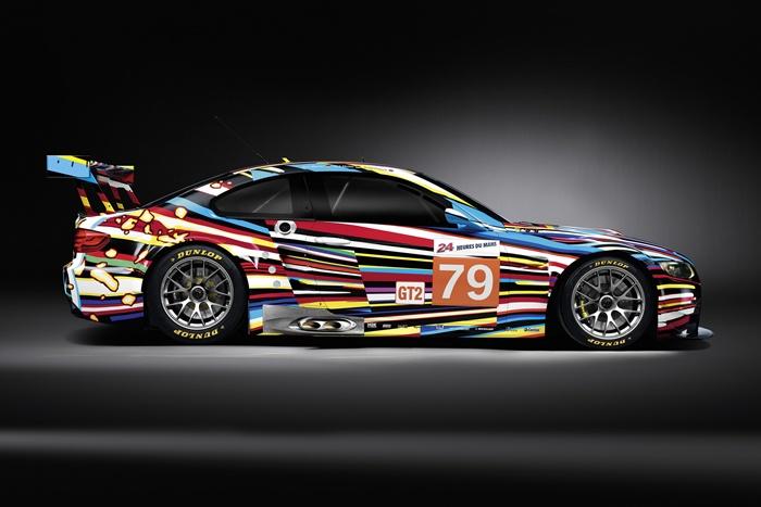BMW M3 GT2 Jeff Koons. Lateral. 24 Horas de Le Mans