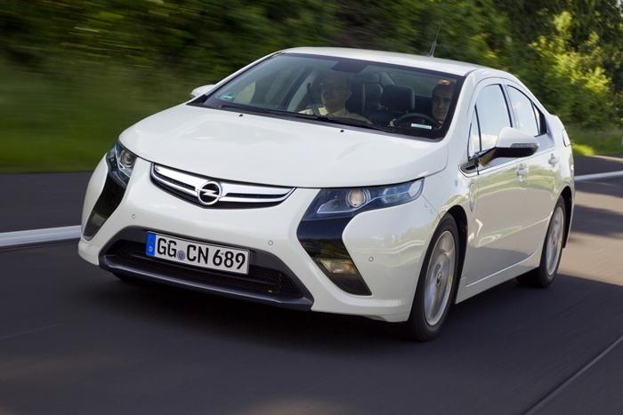 Opel Ampera. Movimiento.