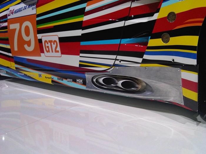 BMW M3 GT2. Jeff Koons. Escapes. 24 heures du Mans.