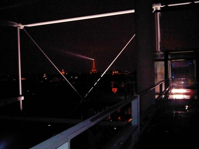 Paris la nuit. Nuestra Torre Eiffel y nuestro faro.