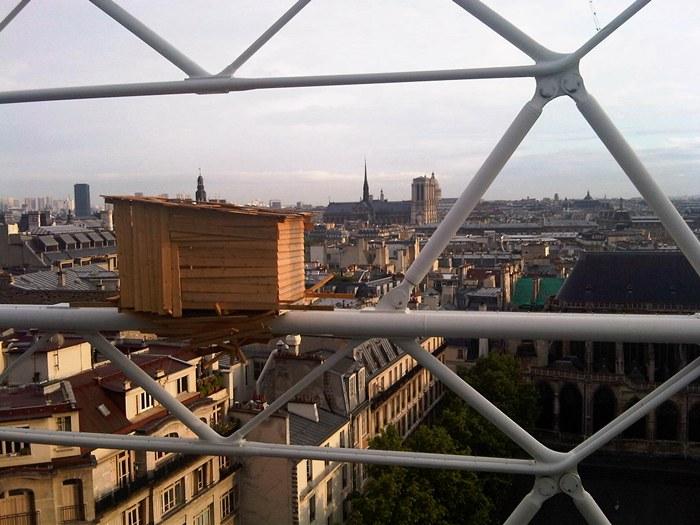 Notre Dame desde el Centro Pompidou