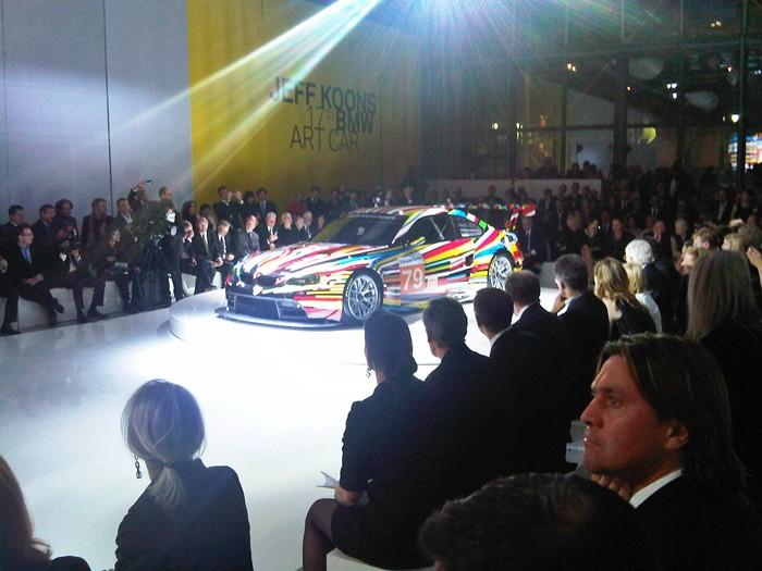 Público VIP. Acto en el Pompidou.