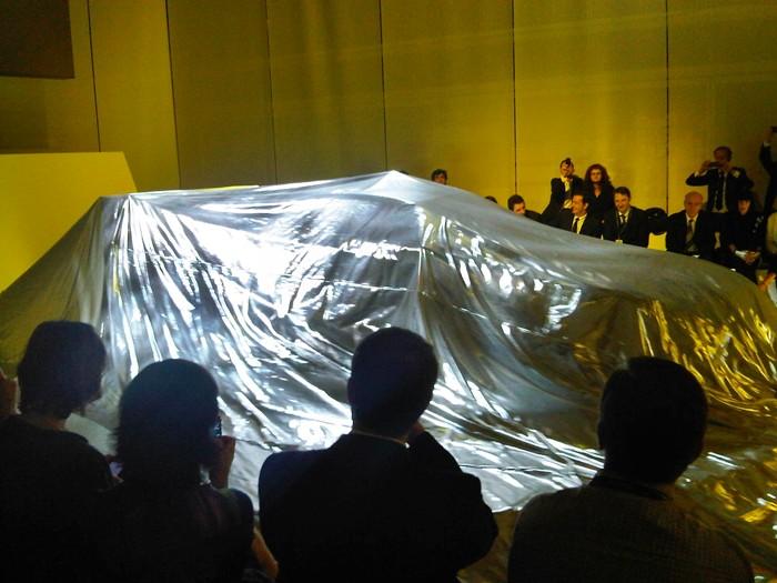 Luces amarillas para el BMW M3 GT2. Jeff Koons.