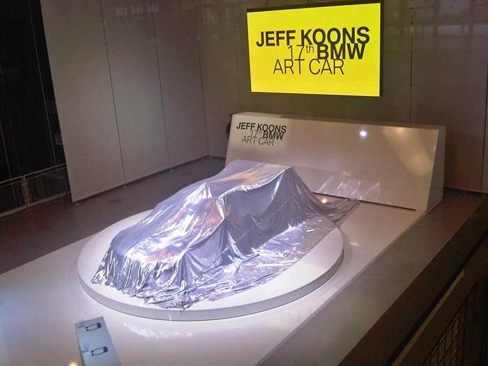 BMW M3 GT2. Jeff Koons.