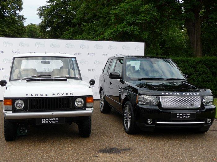 40 años después. Primer Range Rover y el actual