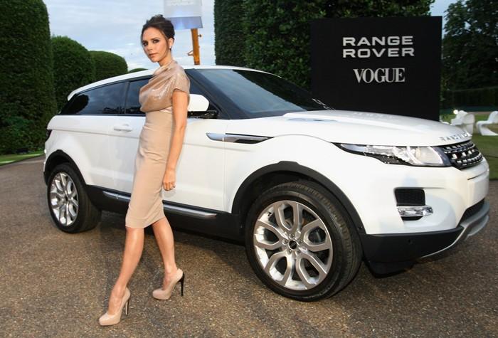 Victoria Beckham. Ejecutiva de diseño creativo de Range Rover.