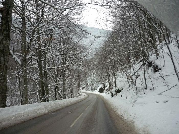 Bulgaria. Siete grados bajo cero.