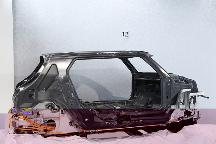 MCV, de BMW. Vista lateral posterior
