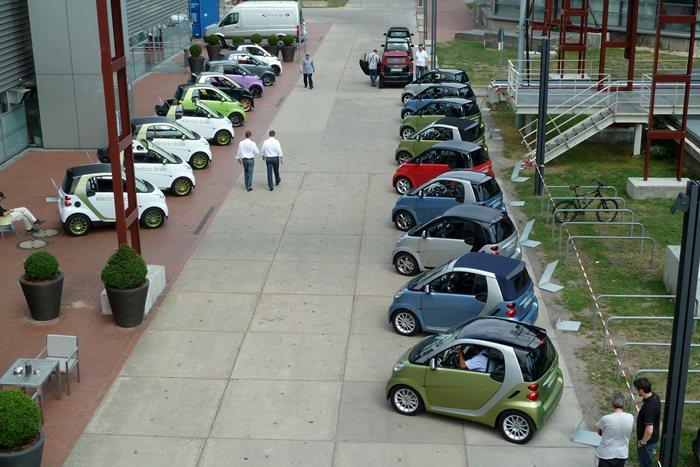 Presentación Smart 2011. Dusseldorf, Alemania.