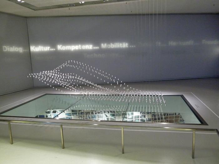 Museo BMW. Escultura Cinética