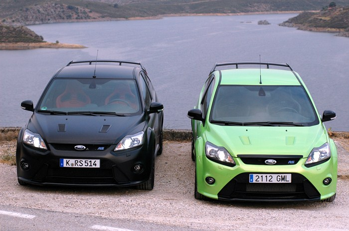 Ford Focus RS500 y Ford Focus RS.
