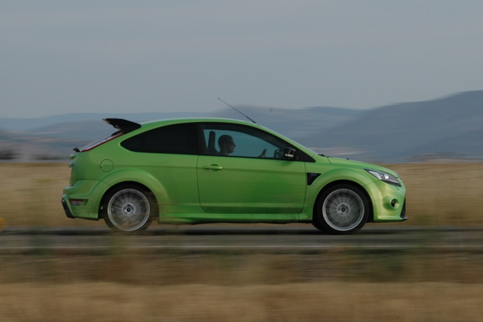 Ford Focus RS. Barrido.