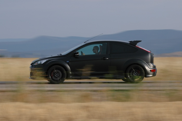 Ford Focus rs500. Barrido