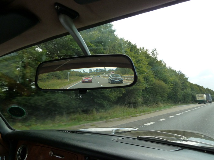 El coche de sir william lyons 2 for Espejo retrovisor interior