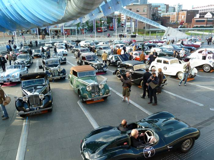 Jaguar D-Type. 75 aniversario de Jaguar