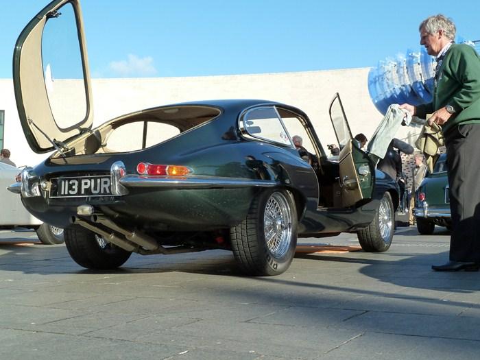Jaguar E-Type S3. 75 Aniversario de Jaguar