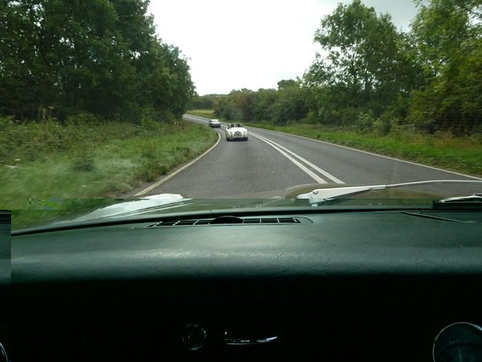 75 Aniversario de Jaguar. Carretera