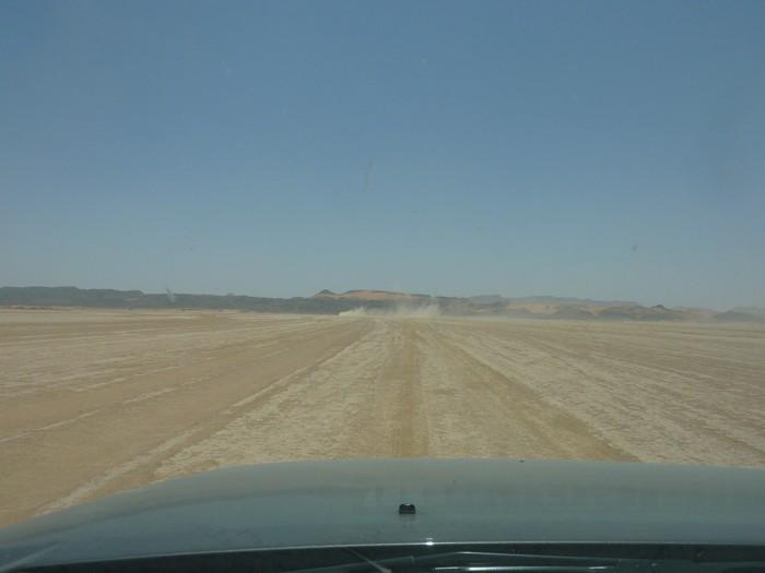 Desierto en coche. Marruecos.