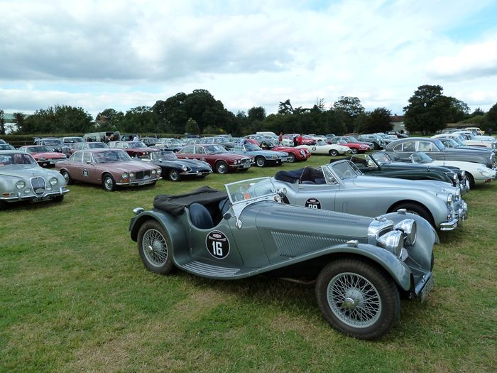Goodwood Revival. 75 aniversario de Jaguar