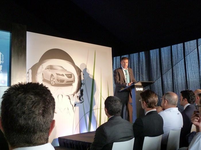 Manuel Alcazar, director general de Saab en España