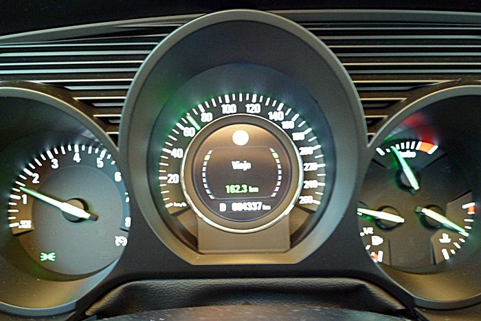 Saab 9-5. Reconocimiento de señales.