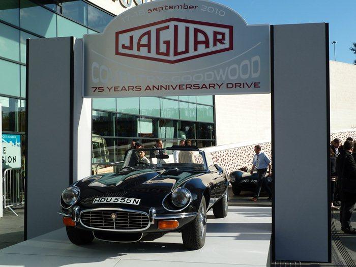 . Jaguar E-Tpe. 75 aniversario de Jaguar