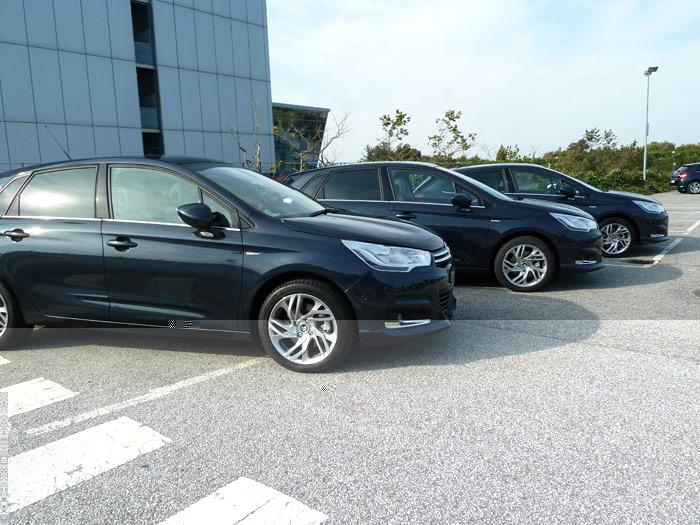 Presentación a la prensa. Nuevo Citroën C4. (1 de 2)