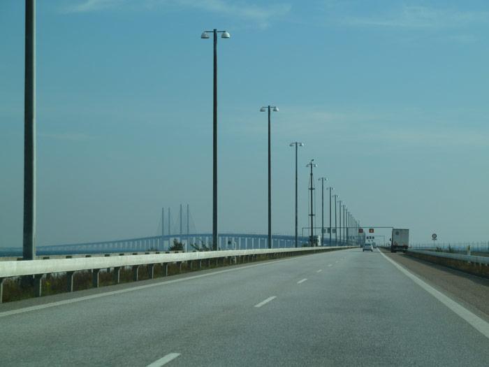 Vistas del Puente de Öresund