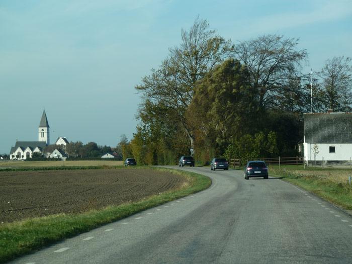 Probando el Citroën C4 de camino al hotel