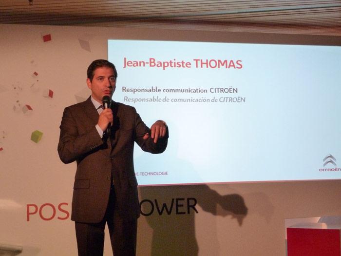 Responsable de Comunicación de Citroën