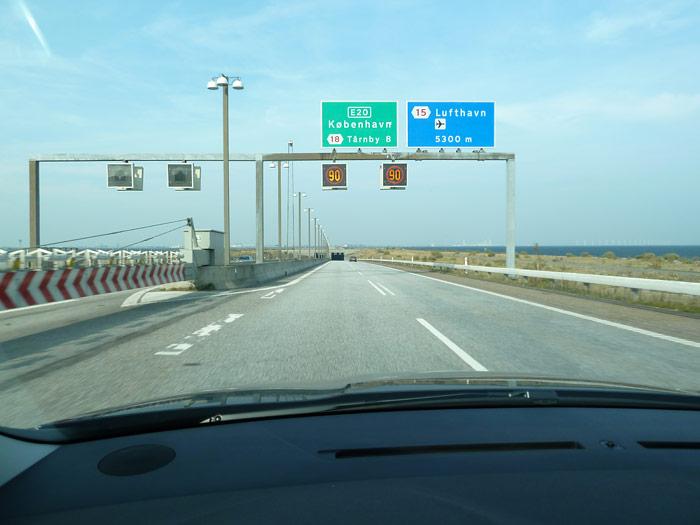 De camino al aeropuerto