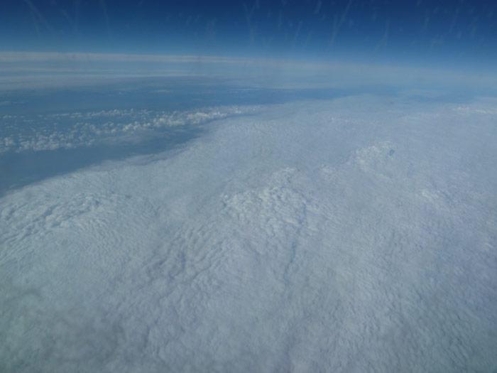Durante el vuelo