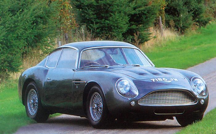 Aston Martin DB4 GT Zagato: ya me hubiese gustado ponerle la mano encima.