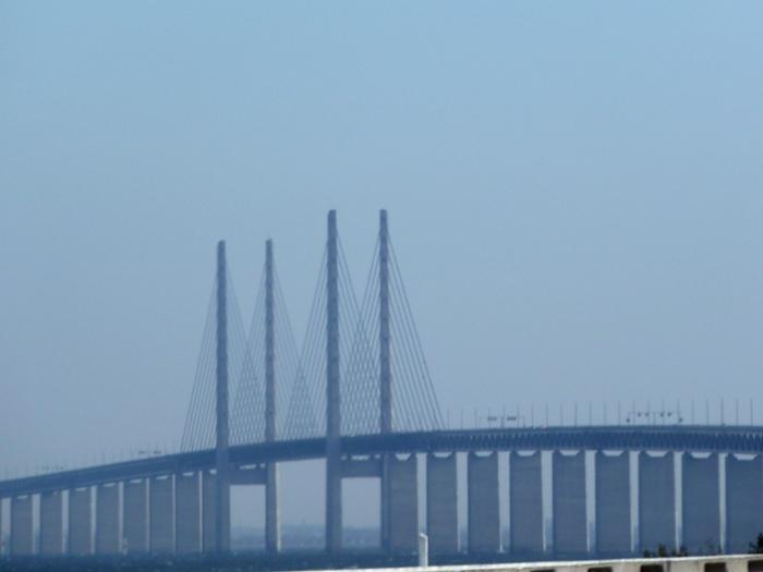 Puente Dinamarca - Suecia.