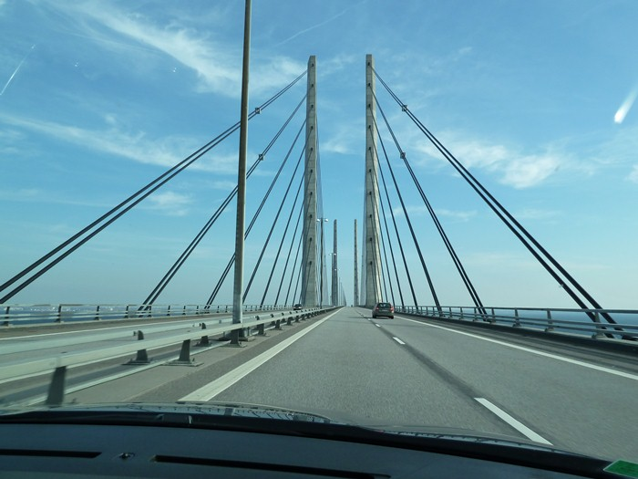 Denmark - Sweden. Bridge.