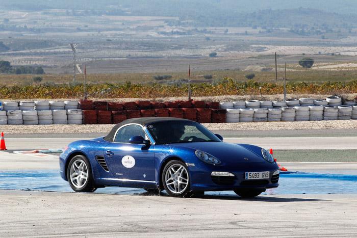 Porsche Boxster. Control de estabilidad