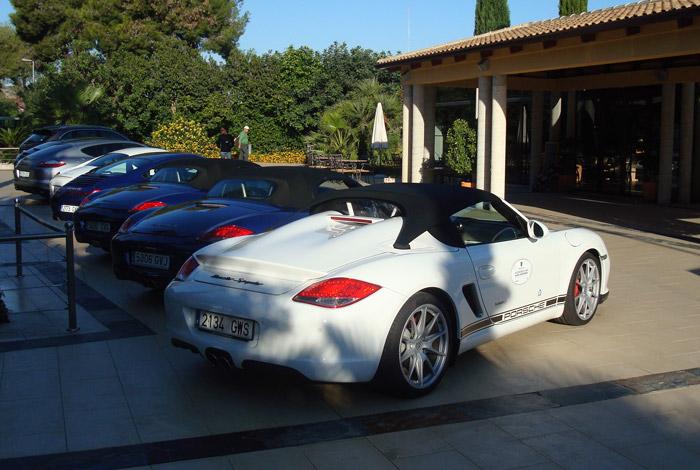 Gama Porsche. Campo de Golf El Plantio