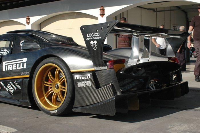 Pagani Zonda R. 750 caballos de potencia