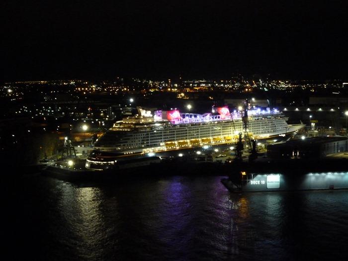 Disney Dream. In Hamburg.