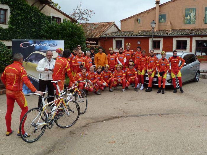 Ciclismo con ciclistas profesionales