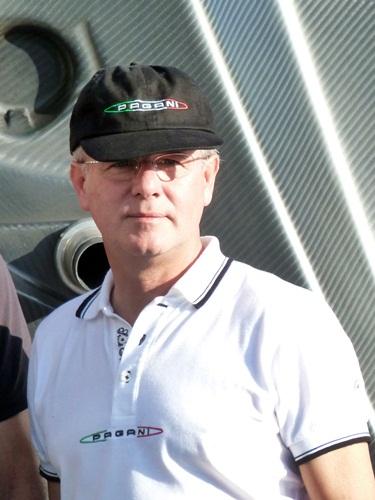 Horacio Pagani, fundador de Pagani Automobili