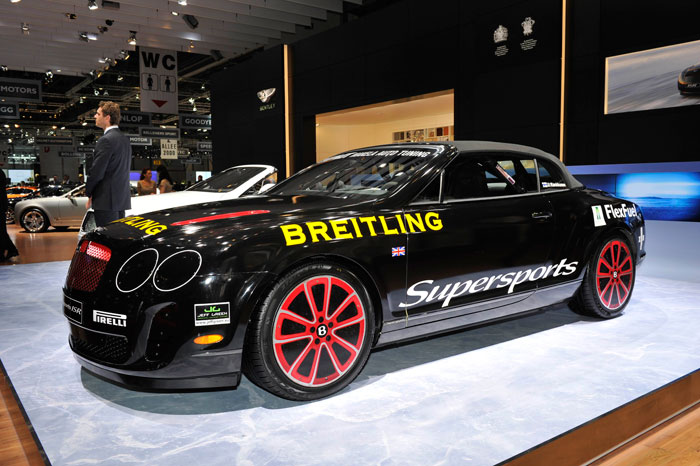 Bentley Continental GTC Supersports ISR del récord