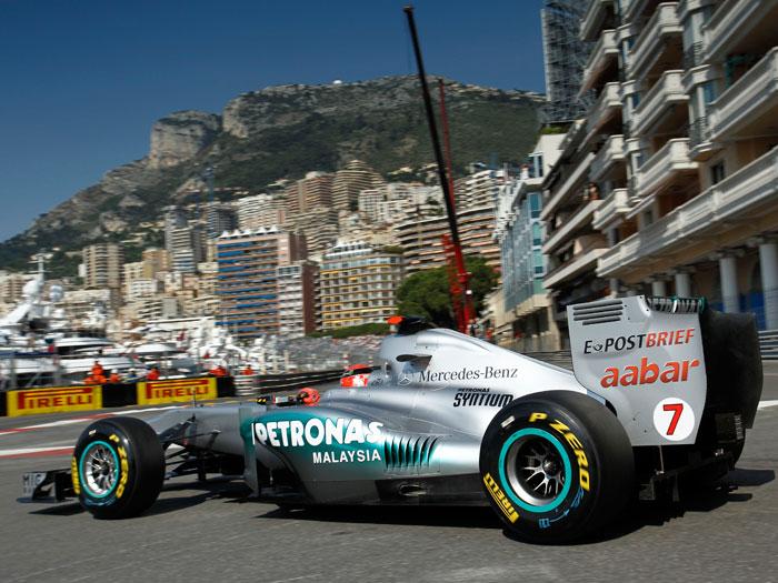 Mercedes-Benz. Michael Schumacher.