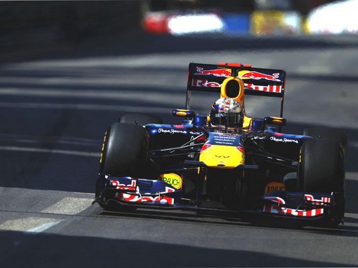 Red Bull. Sebastian Vettel.