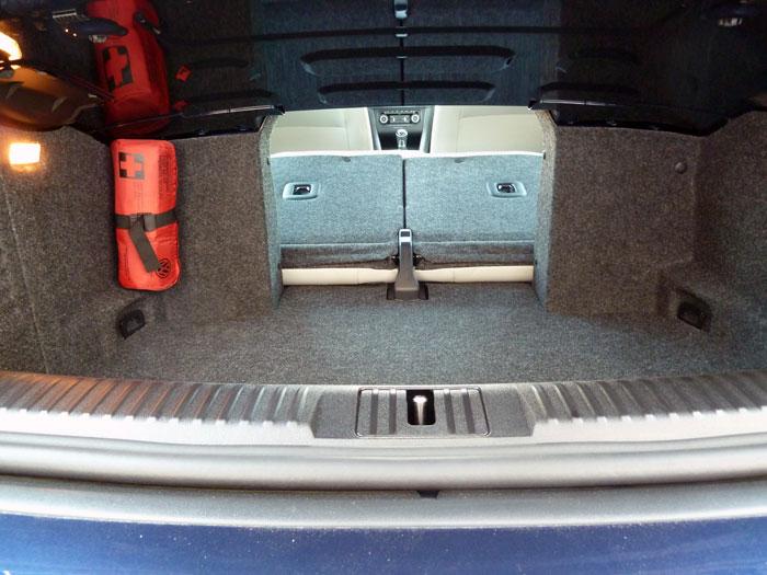 Volkswagen Golf Cabriolet. Maletero.