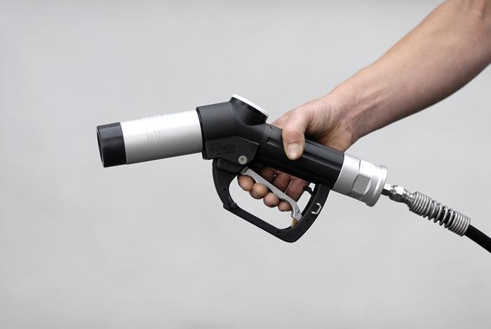 Boquerel para suministro de hidrógeno.