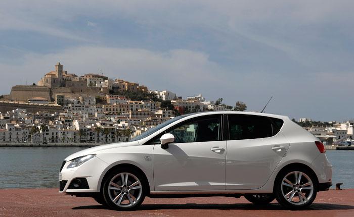 Seat Ibiza 1.2-TSI DSG. Lateral